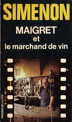 「メグレとワイン商」の原書